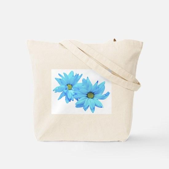 Bright Blue Flower Tote Bag
