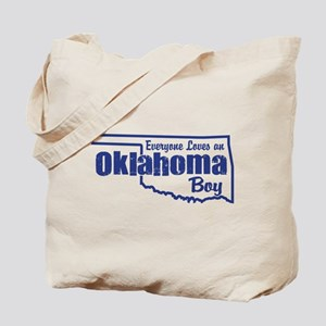 Oklahoma Boy Tote Bag