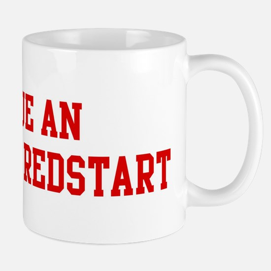 Rescue American Redstart Mug