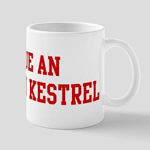 Rescue American Kestrel Mug