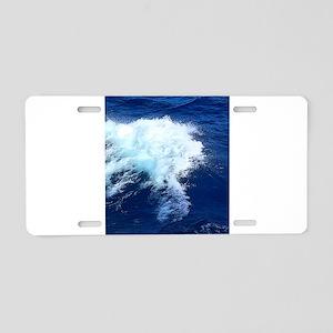 Breakable Beauty Aluminum License Plate