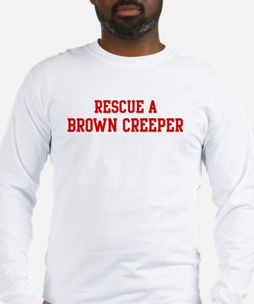 Rescue Brown Creeper Long Sleeve T-Shirt