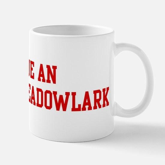 Rescue Eastern Meadowlark Mug