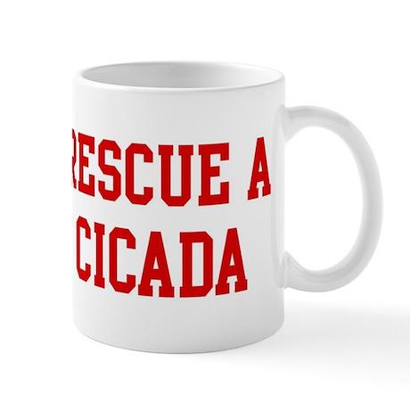 Rescue Cicada Mug
