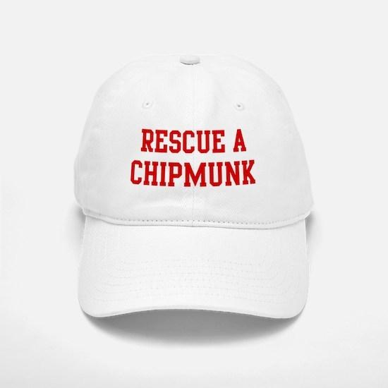 Rescue Chipmunk Baseball Baseball Cap