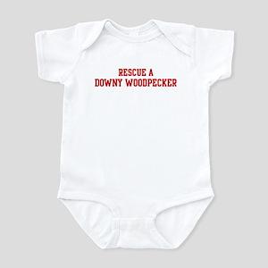 Rescue Downy Woodpecker Infant Bodysuit