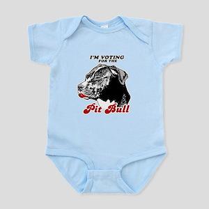 I'm voting for the Pit Bull Infant Bodysuit