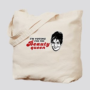 I'm voting for the Beauty Queen Tote Bag