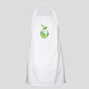 Green World BBQ Apron