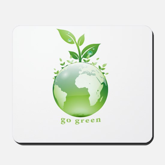 Green World Mousepad