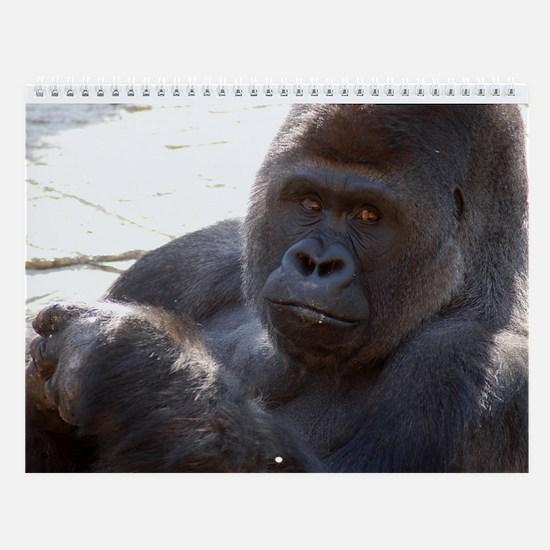 Gorilla 004 Wall Calendar