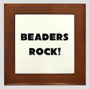 Beaders ROCK Framed Tile