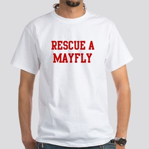 Rescue Mayfly White T-Shirt
