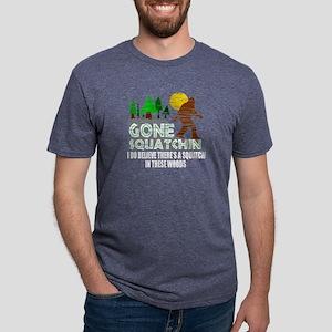 Distressed Original Gone Squatchin D T-Shirt
