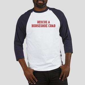 Rescue Horseshoe Crab Baseball Jersey