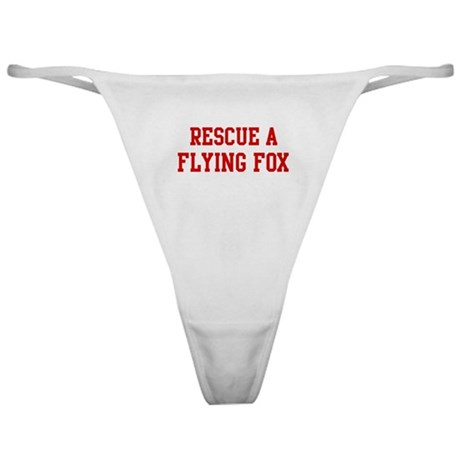 Rescue Flying Fox Classic Thong
