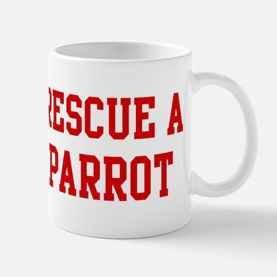 Rescue Parrot Mug