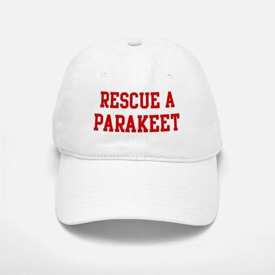 Rescue Parakeet Baseball Baseball Cap