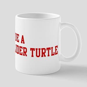 Rescue Red-Eared Slider Turtl Mug