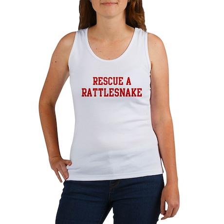 Rescue Rattlesnake Women's Tank Top