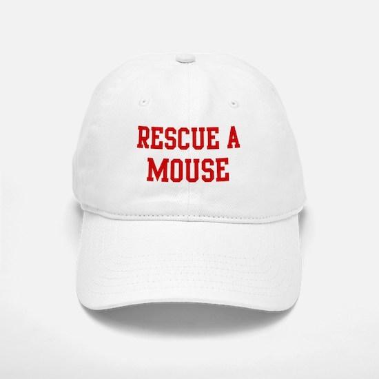 Rescue Mouse Baseball Baseball Cap