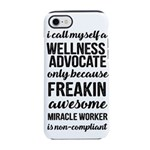 freakin awesome wellness iPhone 8/7 Tough Case