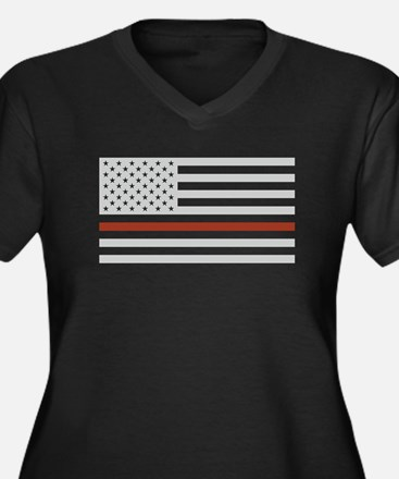 THIN RED LINE Plus Size T-Shirt
