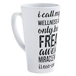 freakin awesome wellness 17 oz Latte Mug