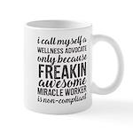 freakin awesome wellness Mugs