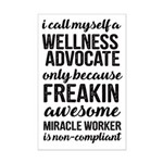 freakin awesome wellness Posters