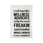 freakin awesome wellness Magnets