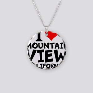 I Love Mountain View, California Necklace