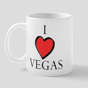 I Love Heart Vegas Mug