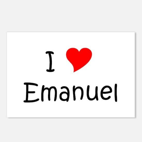 Cute Emanuel Postcards (Package of 8)