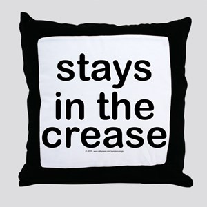 Stays in the crease. Throw Pillow