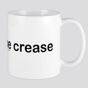 Stays in the crease. Mug