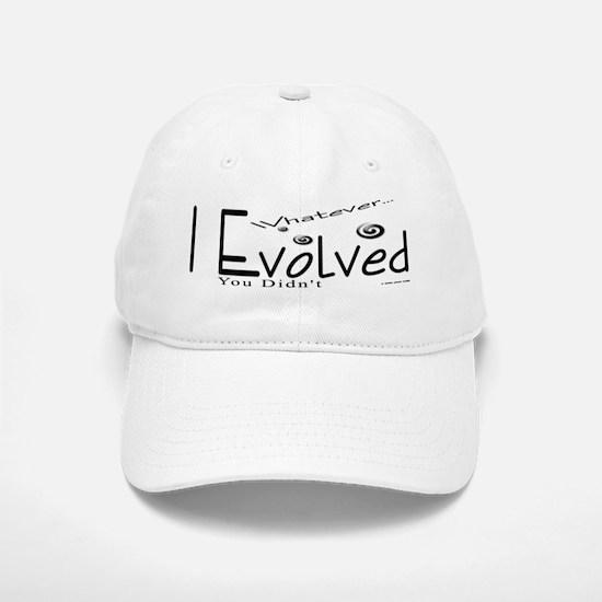 I Evolved Baseball Baseball Cap
