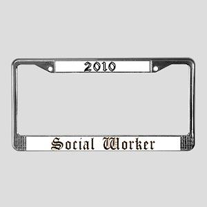 2010 License Plate Frame