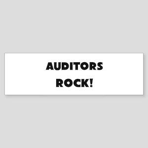 Auditors ROCK Bumper Sticker