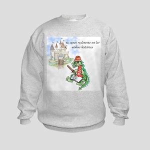 Portugese Stories Kids Sweatshirt