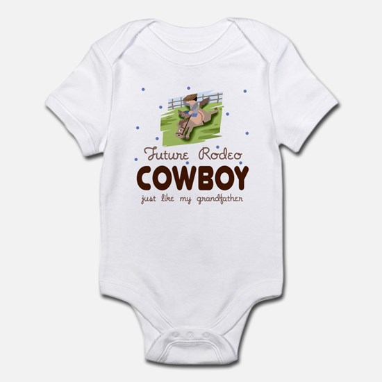 Future Rodeo Cowboy like Grandpa Infant Bodysuit