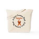 Leukemia Survivor Circle Tote Bag