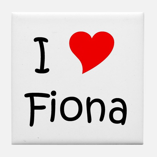 Unique Fiona Tile Coaster