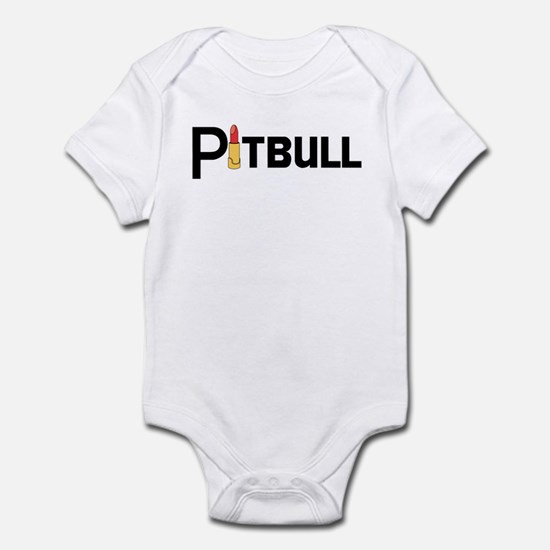 Palin Pitbull with Lipstick Infant Bodysuit