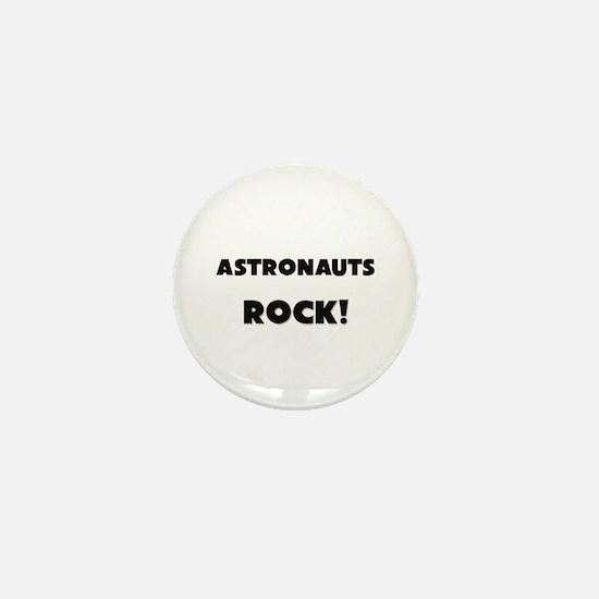 Astronauts ROCK Mini Button