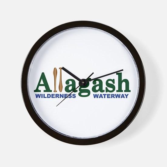 Allagash Wilderness Waterway Wall Clock