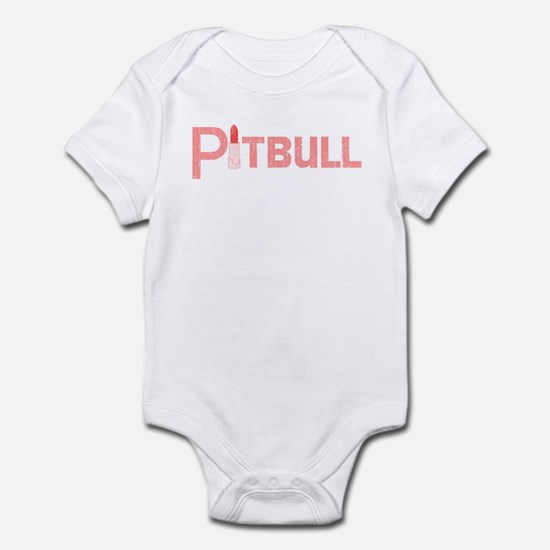 Palin Pitbull with Lipstick Retro Infant Bodysuit
