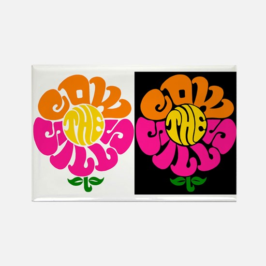 Cowsill Logo (Brights) Rectangle Magnet