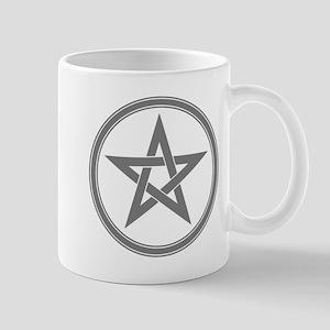 Grey Pentagram Mug