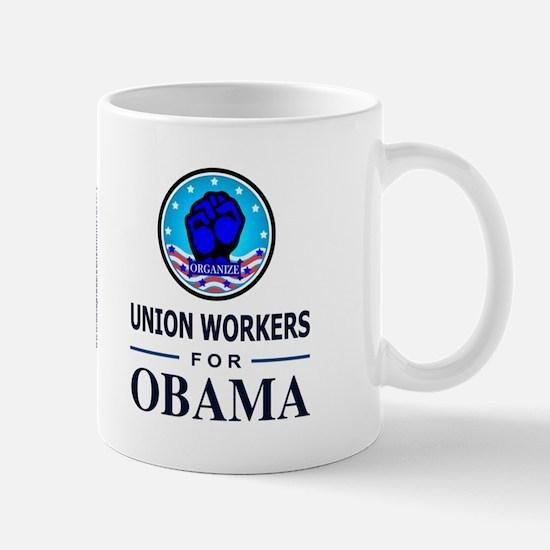 Union Workers Obama Mug